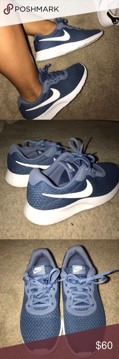 Nike Shoes In excellent condition! Only worn a few times, beautiful blue color, feel free to make an offer! :) Nike Shoes