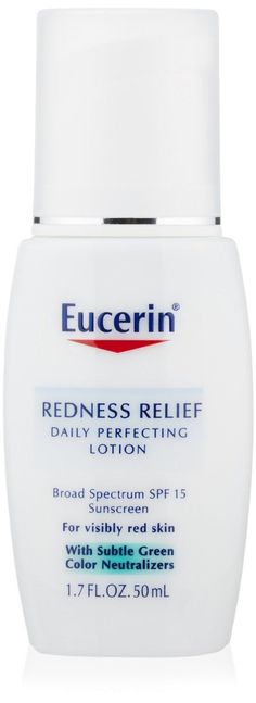 How to Reduce Redness on Face: Eucerin Redness Relief Lotion Review