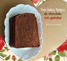 Bloc de recetas: Pan de chocolate Selva Negra