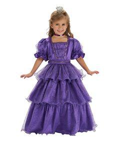 Just Pretend by Wyla Purple Fairy Tale Princess Dress-Up Outfit - Kids Dress Up Outfits, Dress Up Costumes, Cute Girl Outfits, Kids Outfits, Costume Ideas, Dress Shoes, Shoes Heels, Princess Dress Kids, Princess Girl