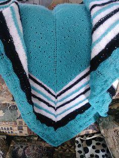 Test knit châle Linda par Claire C.