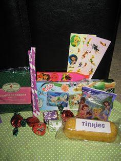 TinkerBell Birthday Party Wonka pixy stix