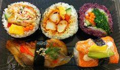 I love the color variety    http://www.sushi-selber-machen.org