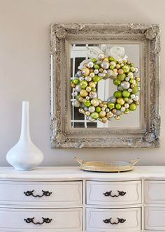 How to make your own Christmas ornament wreath for less than $10!