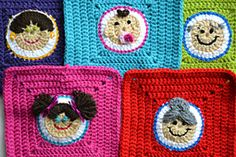 Ravelry: hieke's Face squares