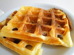 Shut the front door! Dukan waffles: Ingredients:  – 1/2 cup fat free greek yogurt (use half cream cheese)  – 2 eggs – 3 tbsp Swerve – 6 tbsp corn starch – 1 tsp baking powder – 4 tbsp powdered skim milk – 1 tbsp orange blossom water mix all ingredients and i usually  refrigerate before using
