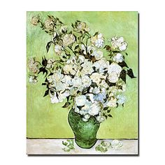 """Hand-painted Famous Oil Painting with Stretched Frame 20"""" x 24"""" by Van Gogh – USD $ 72.99"""