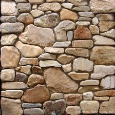Faux Stone Walls, Brick And Stone, Stone Work, Thin Stone Veneer, Stone Facade, River Stones, Rock Wall, Stone Texture, Fireplace Design