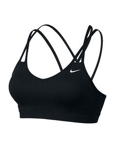 Womens Nike Pro Indy Strappy Bra If you love low-impact, high-energy training, the Womens Nike® Pro Indy Strappy Bra just might be your perfect fit! Youll feel great in this lightweight support bra Nike Free Shoes, Nike Shoes Outlet, Shoe Outlet, Nike Running, Nike Sport Bh, Nike Free Runners, Moda Fitness, Nike Pros, Zumba