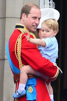 Prince George Looks Adorable in Same Outfit Prince William Wore in 1984!