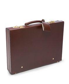 """Peal & Co.® 3"""" Attache Briefcase Brown"""