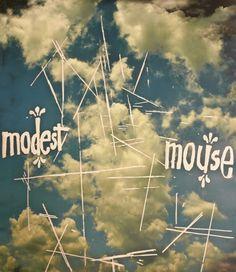 Modest Mouse Cloud Poster