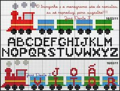 Darling Make Alphabet Friendship Bracelets Ideas. Wonderful Make Alphabet Friendship Bracelets Ideas. Cross Stitch Letters, Cross Stitch Baby, Bead Loom Patterns, Stitch Patterns, Cross Stitching, Cross Stitch Embroidery, Crochet Cross, Crossstitch, Minecraft