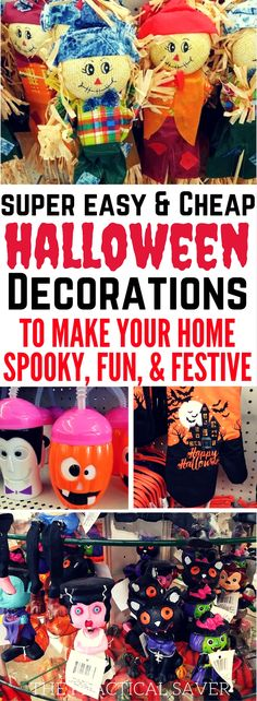 great cheap halloween decorations on a budget - Christian Halloween Stories