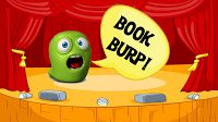 Book Burps recorded with green screen--I LOVE this idea for sharing book reviews! This can be part of a newscast segment our school is going to do! Then make QR codes of the book burp and put inside library books for kids to watch.