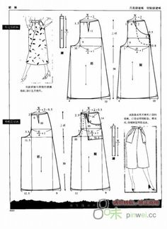 Image gallery – page 464574517807057597 – artofit – Artofit Japanese Sewing Patterns, Dress Sewing Patterns, Sewing Patterns Free, Clothing Patterns, Sewing Pants, Sewing Clothes, Modelista, Pattern Drafting, Sew Pattern