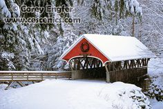 FNSP snowy covered bridge in New Hampshire, courtesy Corey Engfer.
