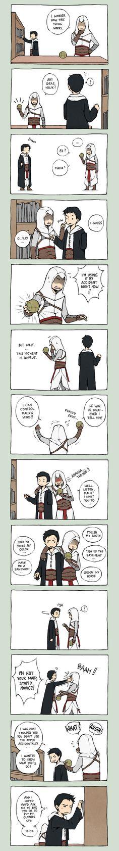 Altair x Malik -->Assassin's Creed by Lanimalu