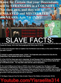 Blacks are hebrew and its a true fact...Read your bible KJV...WHY do you think we have been murdered and struggled for so long...because we are Gods chosen people...and the world of nonbelievers against us....lewrn of who you are....This is he biggest kept secret told to man! The history books are trash dont teach your kids that junk...teach them truth!