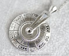 Silver Astrology Necklace Zodiac Jewelry Astrology by MonsterBrand, $3.00