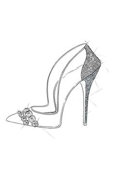 Guess what major shoe designer created this? 9 modern-day takes of Cinderella's fairy tale shoe.