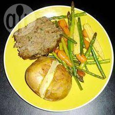 Photo de recette : Pain de viande aux épinards tout simplement divin