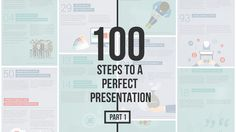 100 Steps to a Perfect Presentation: Part 1