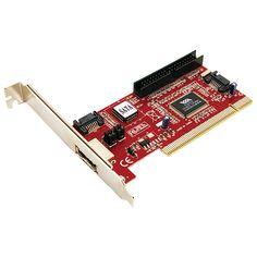 - PC0005Abr/>- Logilink placa PC- 1 xeSATA- 2 x SATA internos- 1 x IDE (PATA)15,90��  Nif 206030088