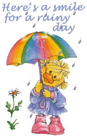 Thinking of you on this rainy day! Hugs! ♥ XO