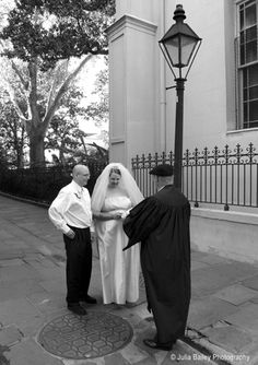 Get married in the Pirates Alley, French Quarter New Orleans by Chaplain JK Schwehm.