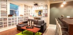 This Architect Turned His Basement Into An Amazing 'LEGO Lounge'