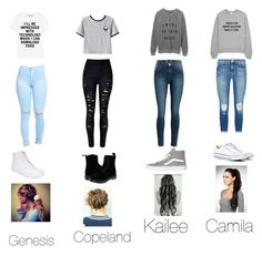"""""""Untitled #532"""" by oliviamarvel on Polyvore featuring Chicnova Fashion, J Brand, Vans, Dr. Martens and Converse"""