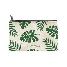 Take some tropical love on the road with this lush cotton canvas pouch. Perfect for all of your on the go beauty essentials. Coin Purse Wallet, Pouch, Pencil Case Pattern, School Pens, Stationary Supplies, Tote Bags Handmade, Candy Bags, Diy Canvas, Zipper Bags