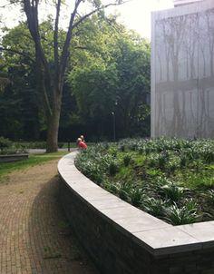 Ontwerp buitenruimte kinderopvang de Klinkert op landgoed Veldwijk Ermelo, door Vollmer & Partners
