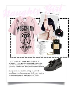 """""""Untitled #152"""" by daisy-du on Polyvore featuring Acne Studios, Moschino, MCM and Fendi"""
