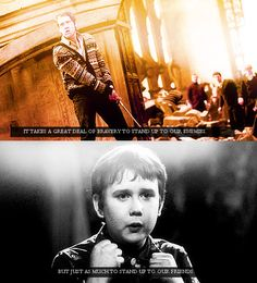 It takes a great deal of bravery to stand up to our enemies; but just as much to stand up to our friends - Albus Dumbledore, Harry Potter and the Philosopher's stone Harry Potter Facts, Harry Potter Quotes, Harry Potter Love, Harry Potter World, Literary Quotes, Movie Quotes, Funny Quotes, Draco, Matthew Lewis