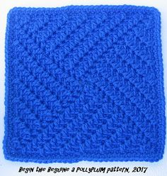 Begin the Beguine, free pattern by Polly Plum as part of Stardust Melodies 2017 CAL. *Original pattern slightly modified by mugginsquilts to simplify; read her Ravelry notes. #crochet #afghan