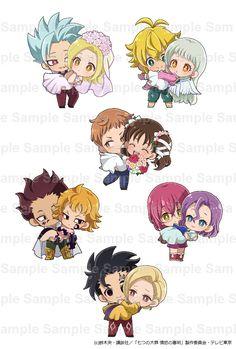 Loli Kawaii, Kawaii Chibi, Cute Chibi, Anime Chibi, Kawaii Anime, Seven Deadly Sins Anime, 7 Deadly Sins, News Anime, Meliodas And Elizabeth