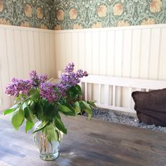 Lilacs in my kitchen