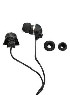 Star Wars Darth Vader Earbuds!! I need this!