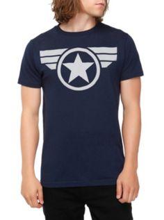 Marvel Captain America: The Winter Soldier Logo T-Shirt