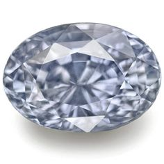 6.96-Carat Unheated Eye-Clean Soft Violetish Blue Sapphire (GIA)