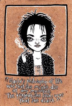 Marla Singer (Fight Club) illustration by Jen