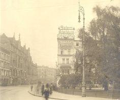 Ul. Świdnicka - widok z placu w kierunku południowym.Rok 1925