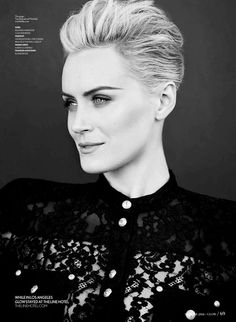 OITNB Star Taylor Schilling Gets Glam for Glows Summer Cover Shoot m-up/ Georgie Eisdell Hair by Richard Marin