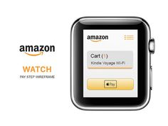 amazon watch app (wireframe)