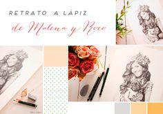 Moodboard retrato Malena Costa y Roco