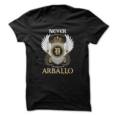 Awesome Tee ARBALLO Never Underestimate T-Shirts