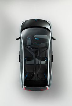 Cool BMW: Overhead shot of the BMW i3 Concept....  BMW Check more at http://24car.top/2017/2017/06/01/bmw-overhead-shot-of-the-bmw-i3-concept-bmw/