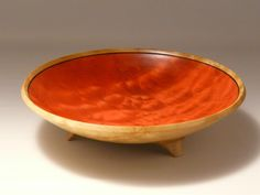 The-Cardinals-Fruit-Bowl Ed's Woodturning